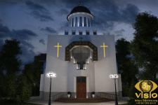 3D-визуализация церкви. Киев